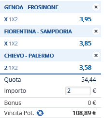 Pronostico Serie A 3 aprile 2016 Pronos10