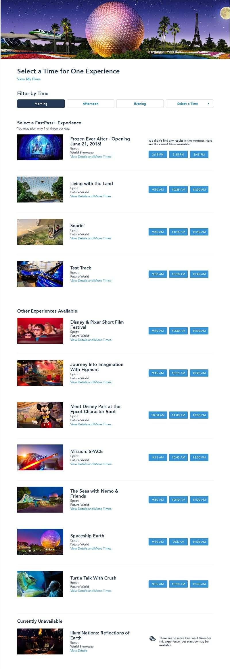 [Walt Disney World Resort] Tout savoir pour préparer son voyage - Page 3 Epfpa310