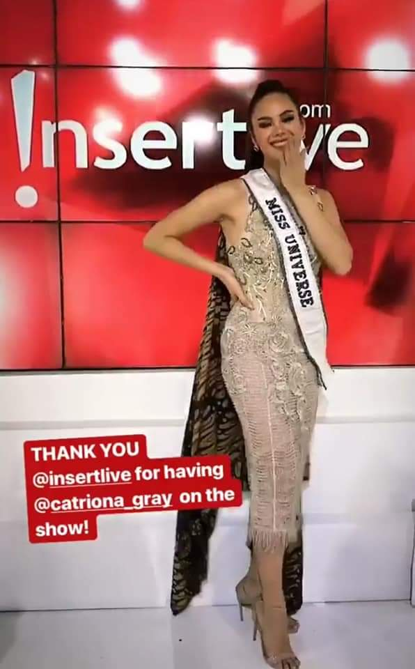 ♔ The Official Thread of MISS UNIVERSE® 2018 Catriona Gray of Philippines ♔ - Page 13 Fb_im404