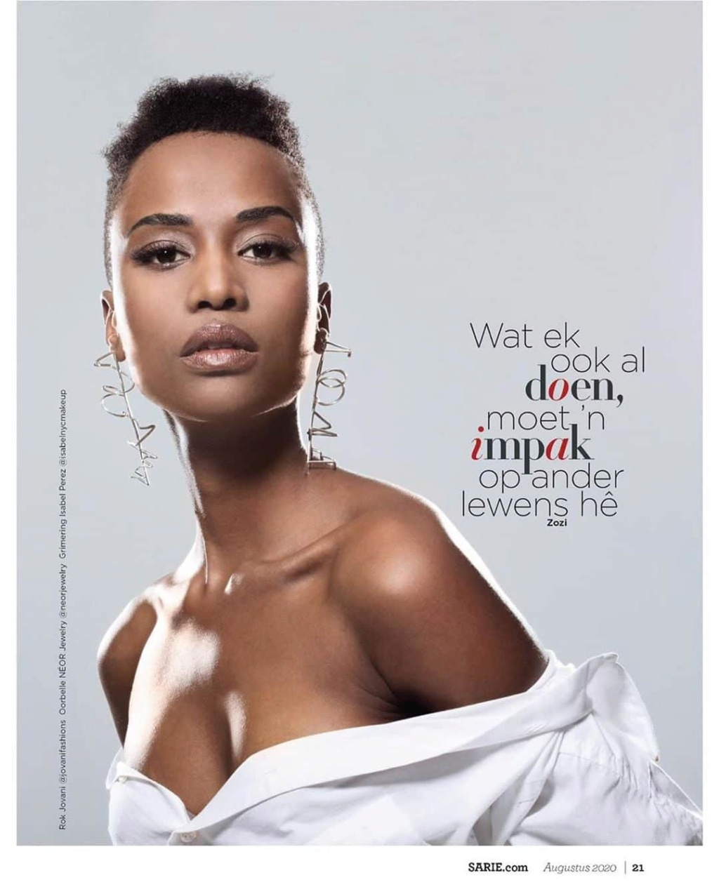 The Official Thread Of Miss Universe 2019 : Zozibini Tunzi of South Africa - Page 5 Fb_im868