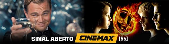Sinal aberto do canal Cinemax Novida10