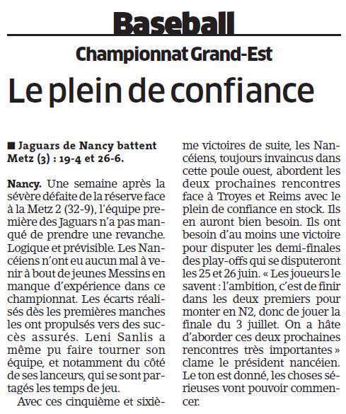 29 mai 2016 / 5ème journée du CGE-Ouest (Metz3) - Page 2 Baseba10