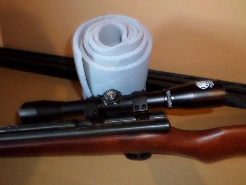 Mes 1er carton avec ma première carabine .... Sam_2313