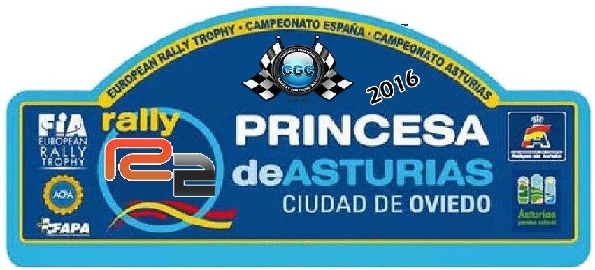 Confirmación para el Shakedown Rally Princesa de Asturias R2 2016 Logo10