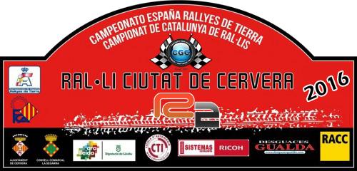 Confirmación para el Shakedown Rally Ciutat de Cervera R2 2016 Logo12