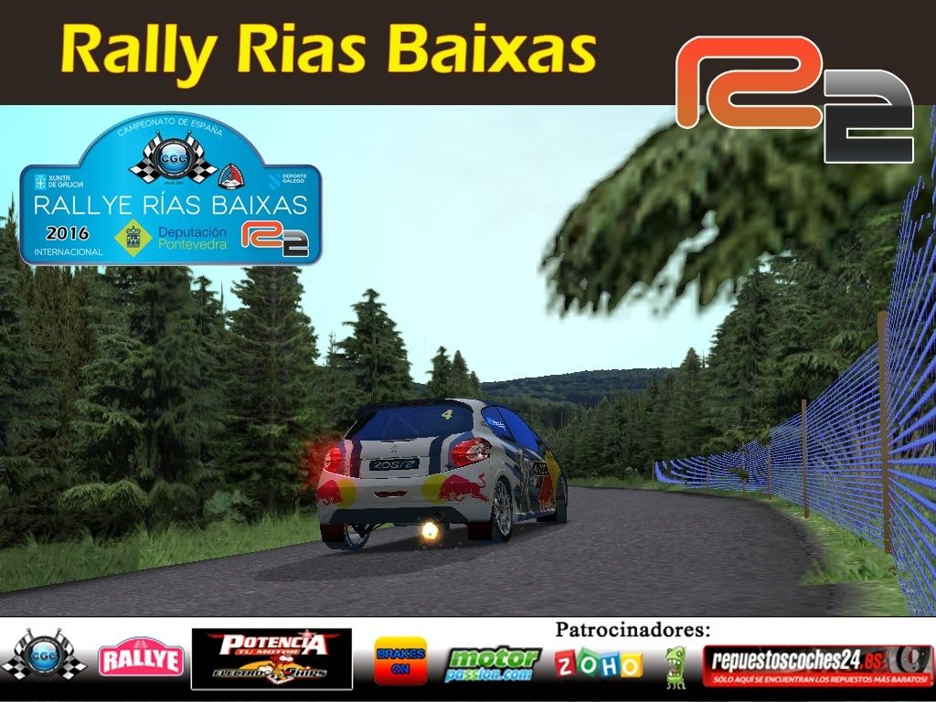 Roadbook rally Rias Baixas R2 Logo_r11