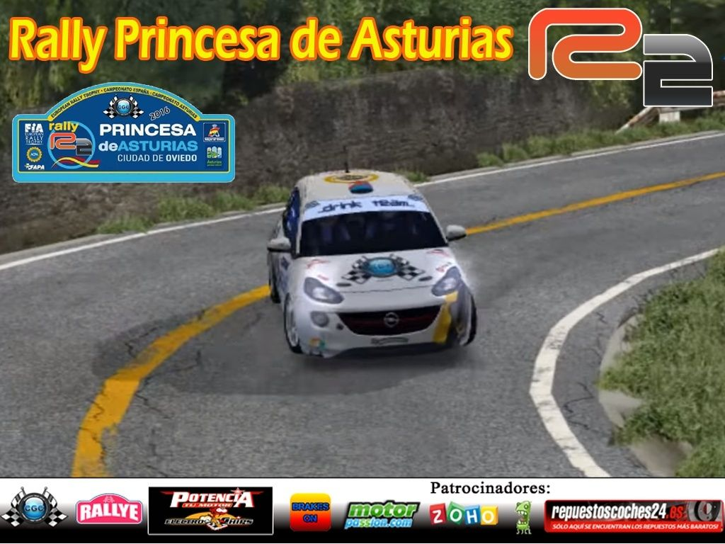 Roadbook rally Princesa de Asturias R2 Rally10