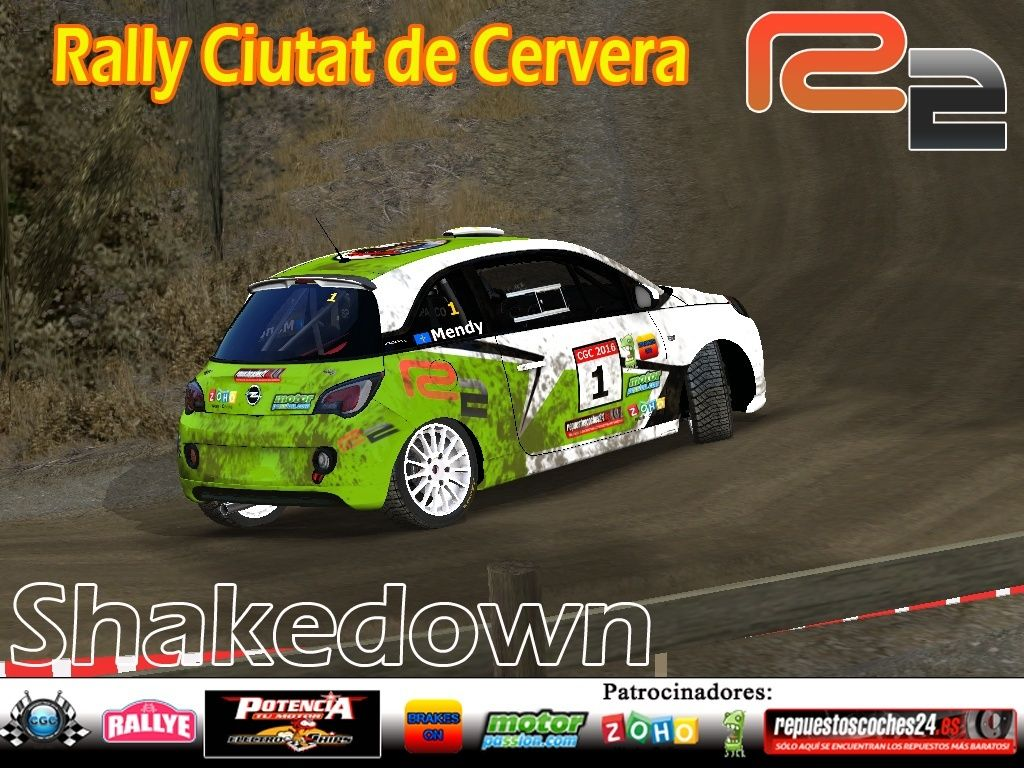 Confirmación para el Shakedown Rally Ciutat de Cervera R2 2016 Shake11