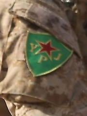 U.S. troops wearing YPG patches in Syria Kurd_p10