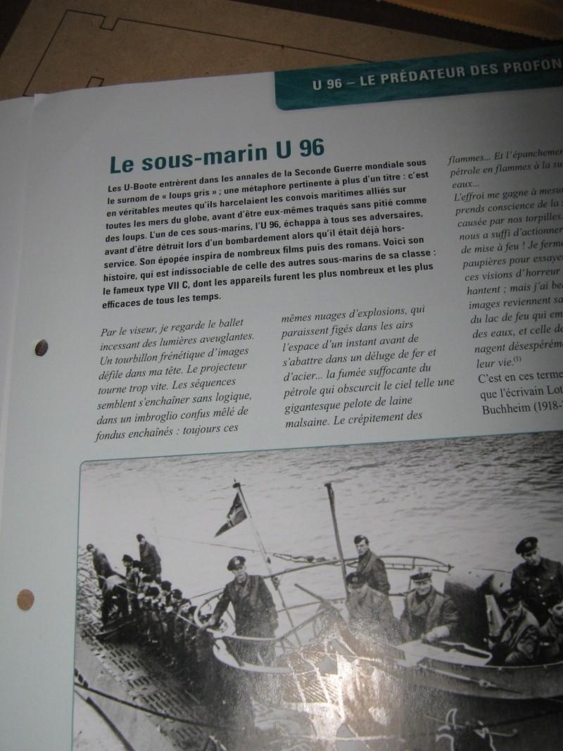 U boat U 96 un sous-marin Fascic19