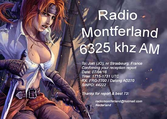 eQSL de Radio Montferland Montf510