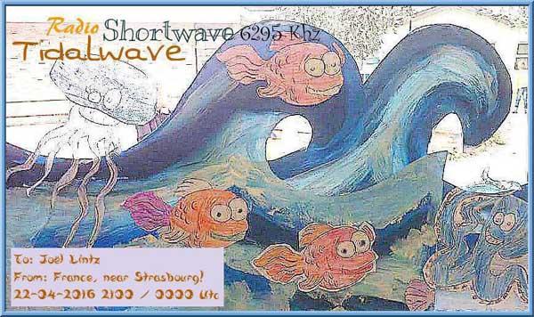 eQSL de Radio Tidalwave Tidalw10