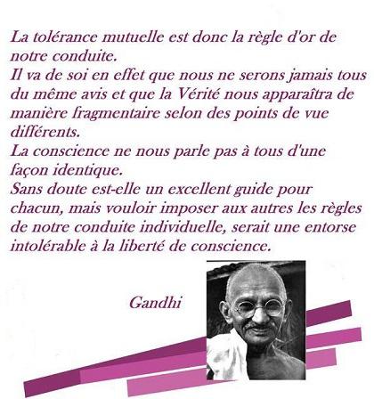 """SEI n°01: """"La tolérance mutuelle est donc la règle d'or de notre conduite"""" Les_en10"""