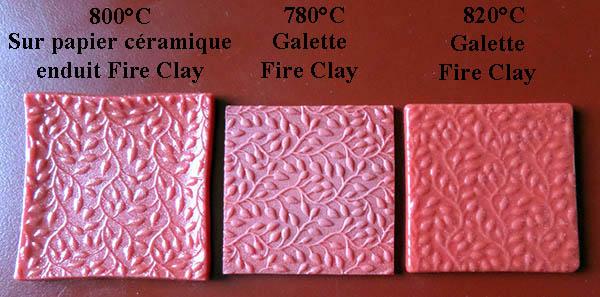 Support de cuisson en Météor Fire Clay - Page 4 Compar12