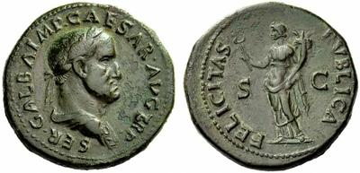 Médaillon de l'empereur Galba Galba10