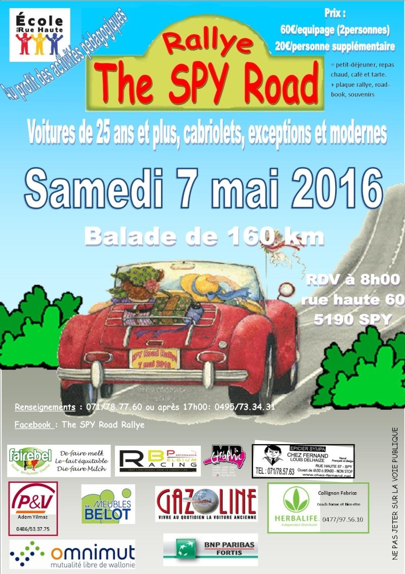 The Spy Road, le 7 mai 2016. Spy_2010