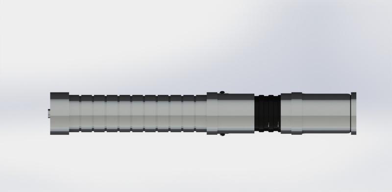 La Forge de Nico - Sabre de Michael B inspiré du Quinlan Vos Vue410