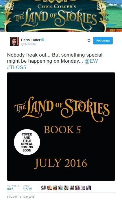 The Land of Stories 5 - An Author's Odyssey Chris_11