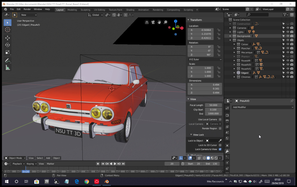 3D TT de base Clémentine - Page 4 Screen14