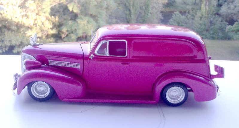 39' Chevy Sedan Delivery Lowrider 2016-125