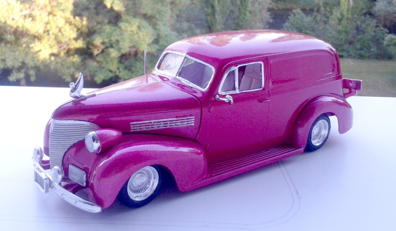 39' Chevy Sedan Delivery Lowrider 2016-126