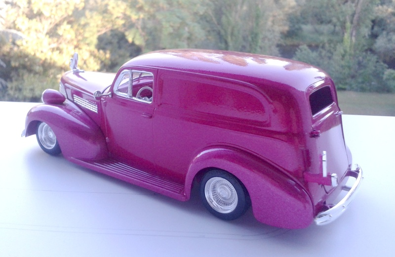 39' Chevy Sedan Delivery Lowrider 2016-128