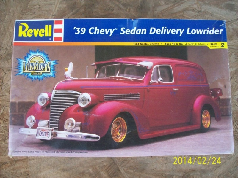 39' Chevy Sedan Delivery Lowrider Tmreve11