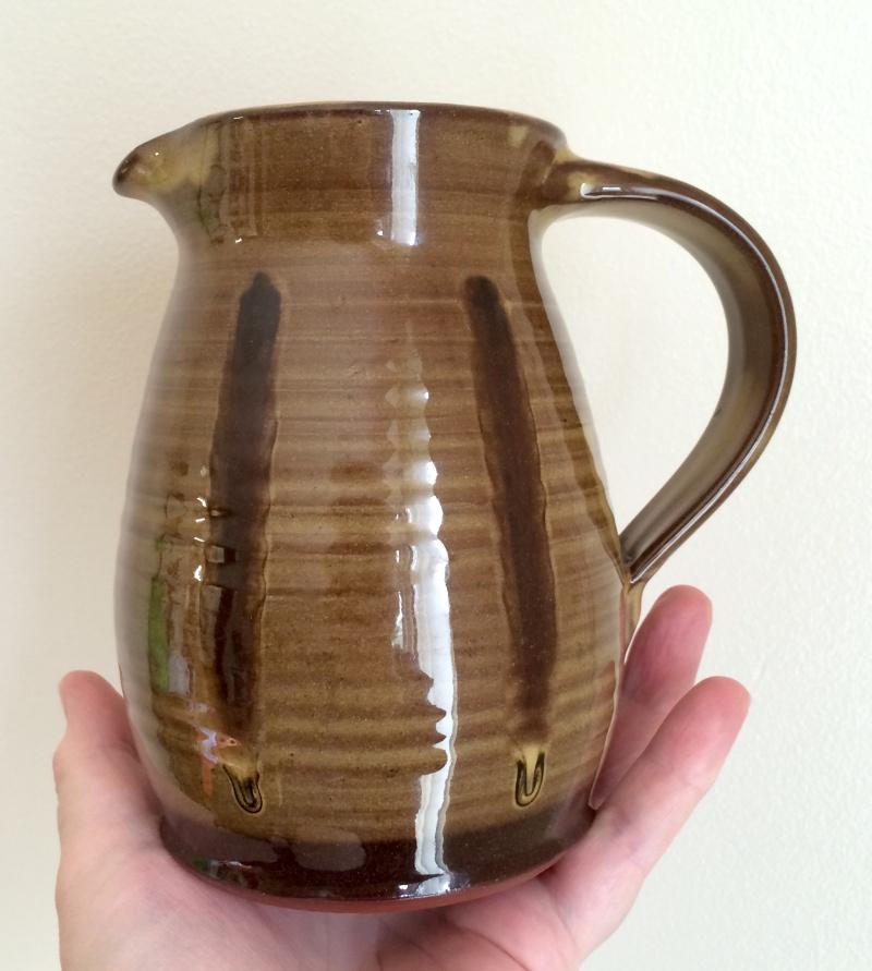Slipware jug - wg mark (not Matt Grimmit) - W. Goodman, Totnes Image251