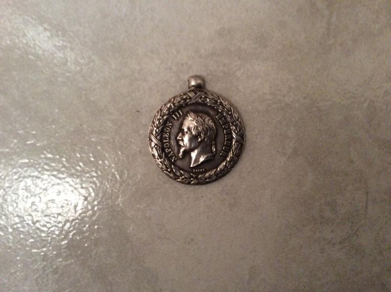 Jeton de la medaille d'Italie 1859 - ESC 2 baisse reservee Image24