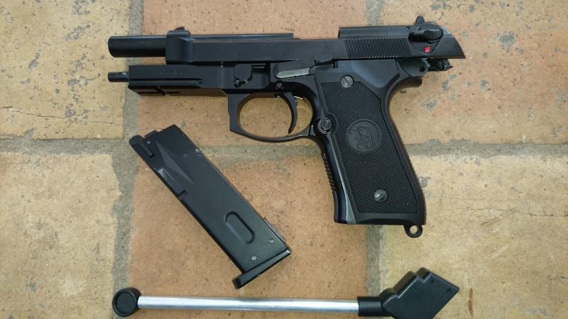 M4, AK47, WE 1911, KJ et Marui M9A1, replique SIG226 Kj_m9a10