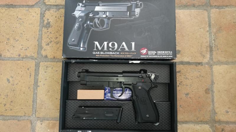 M4, AK47, WE 1911, KJ et Marui M9A1, replique SIG226 Marui_10