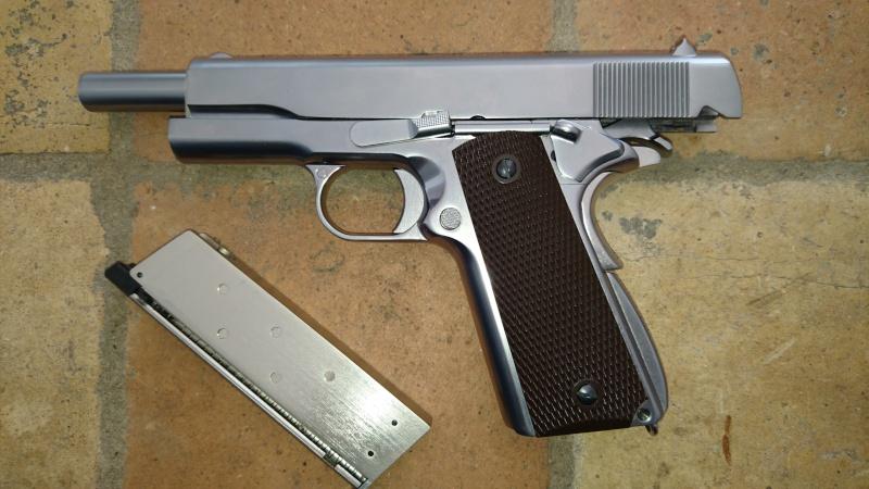 M4, AK47, WE 1911, KJ et Marui M9A1, replique SIG226 We_19110