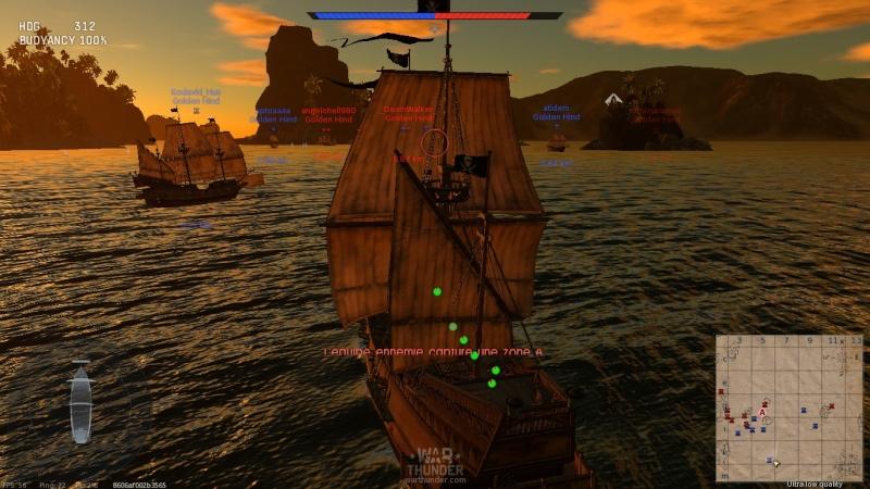 Navires sur War Thunder Shot_210