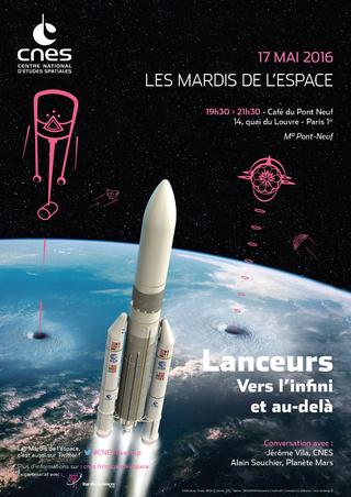 17 mai 2016 - Conférence (les Mardis de l'espace) - Lanceurs : vers l'infini et au-delà Is_caf10