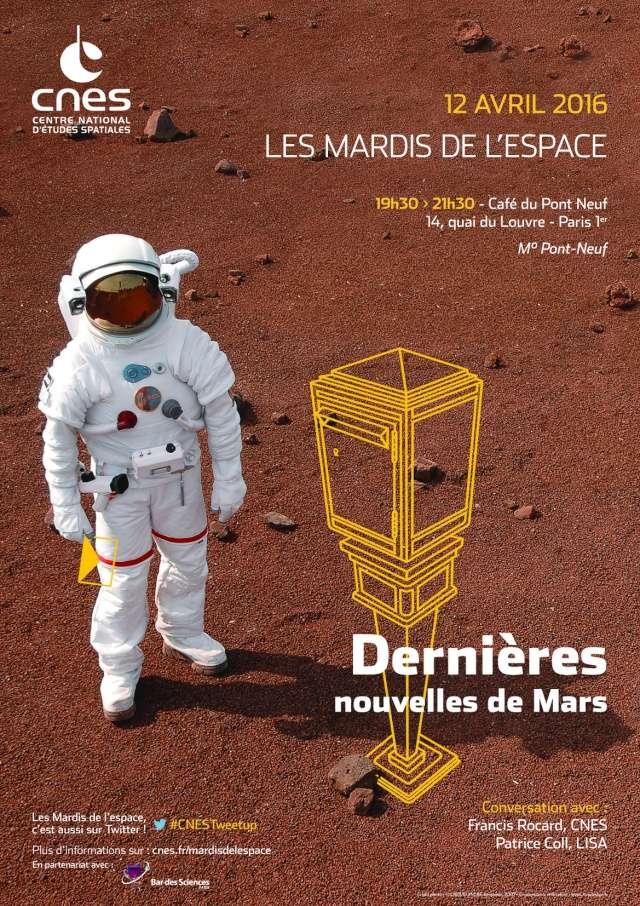 12 avril 2016 - Conférence (les Mardis de l'espace) - Dernières nouvelles de Mars Is_mar11