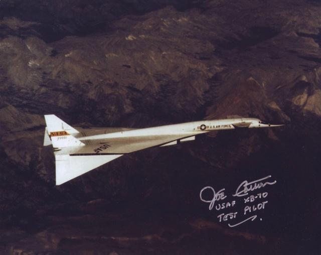 Disparition du pilote d'essais Joe Cotton (1922-2016) Xb-70_10