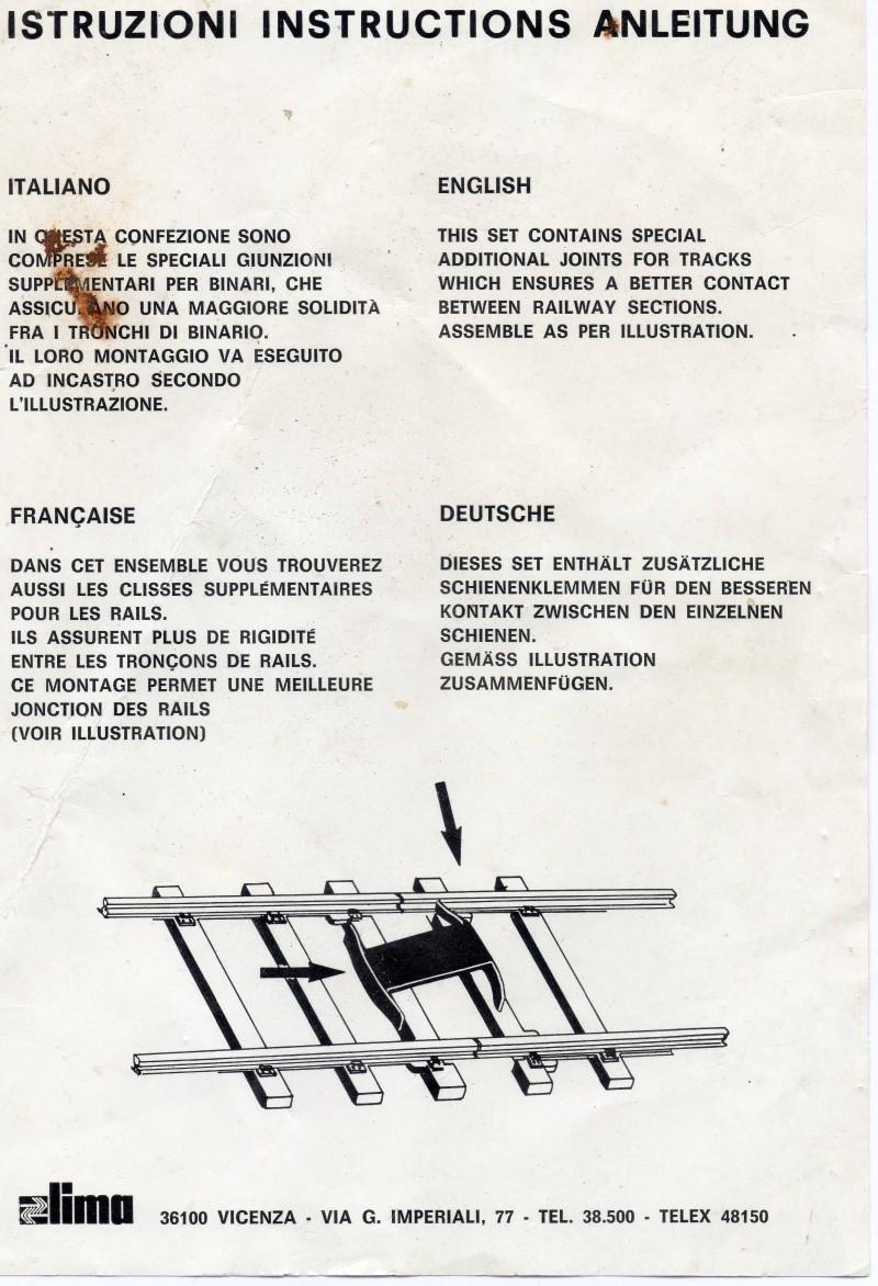 Les différents éléments de voie Lima au 1/45. Img20910