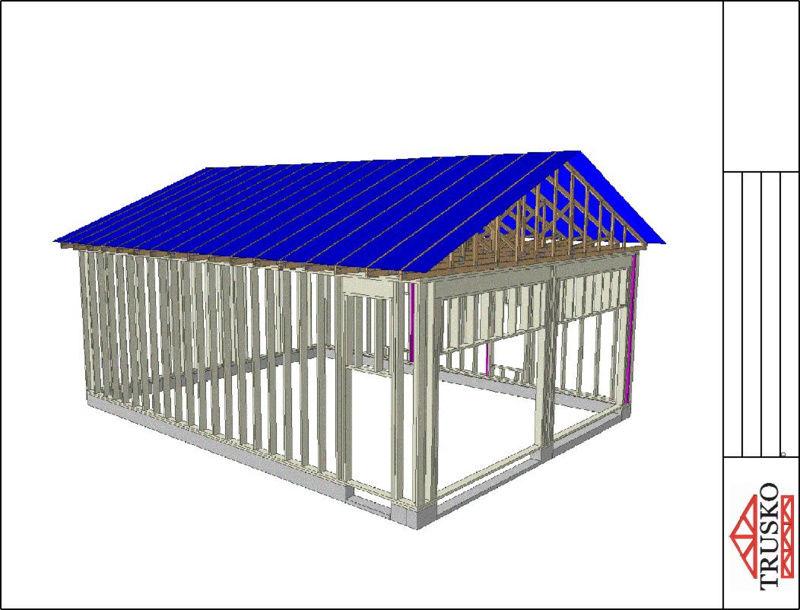 Garage construction Sans-t11