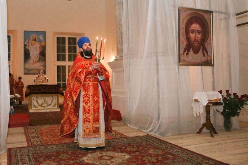 В Серпуховском районе верующие встретили Пасху  Krehod15