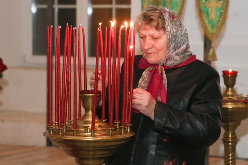 В Серпуховском районе верующие встретили Пасху  Krehod17