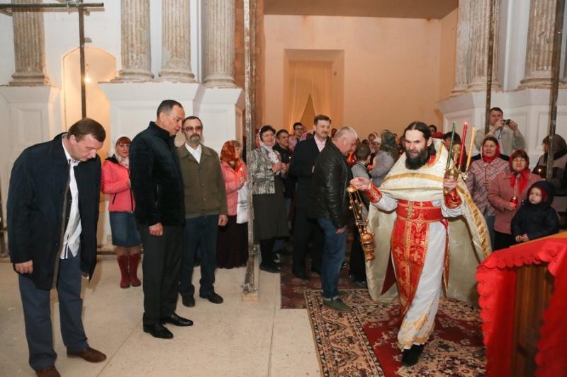 В Серпуховском районе верующие встретили Пасху  Krehod18