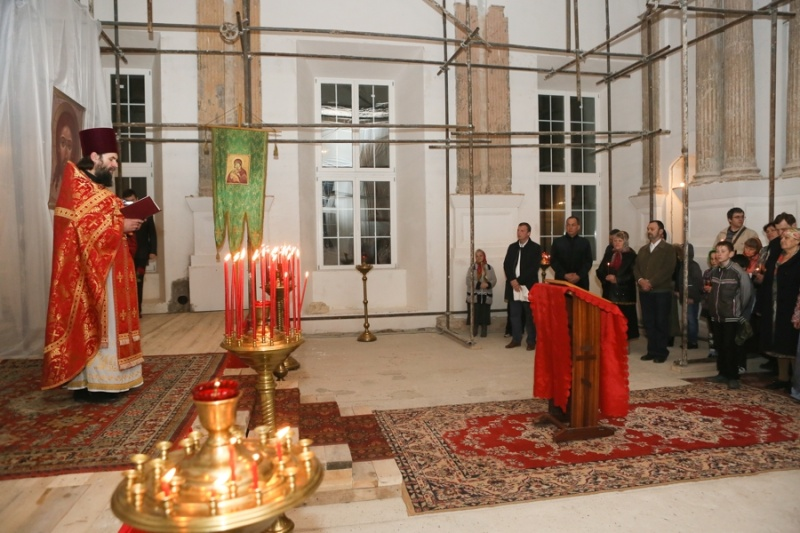 В Серпуховском районе верующие встретили Пасху  Krehod19
