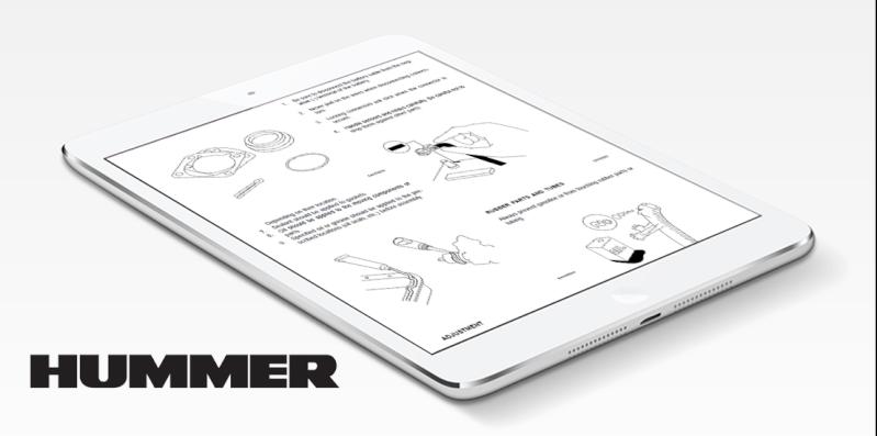 Manuel(guide utilisateur, manuel d'atelier ...) Hummer H1/humvee, H2 & H3 à disposition  Hummer10