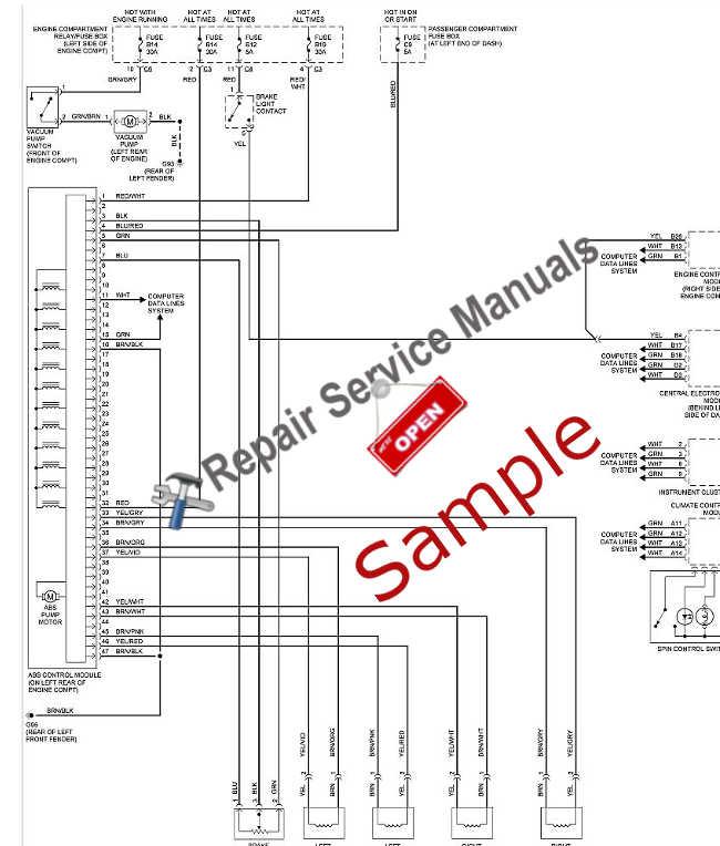 Manuel(guide utilisateur, manuel d'atelier ...) Hummer H1/humvee, H2 & H3 à disposition  Sample11