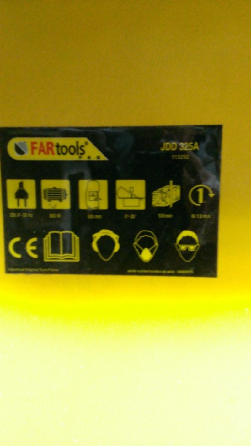 scie à ruban Fartools Fartoo10