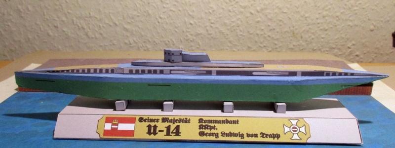 SMS U14, Papermau, 1/250 gebaut von Helmut Dully U14_110