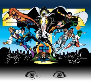 the new teen titans : games graphic novel Aa10