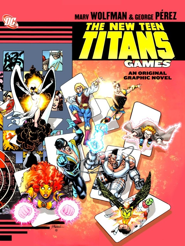 the new teen titans : games graphic novel New_te13