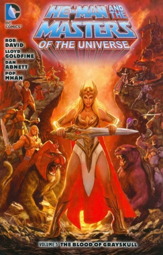He-Man and the masters of the Universe.  Vol5_110