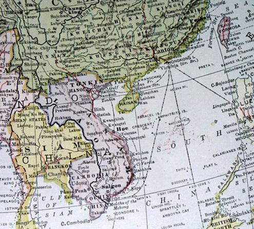 Những tấm bản đồ chứng minh Hoàng Sa, Trường Sa thuộc về Việt Nam 40031110
